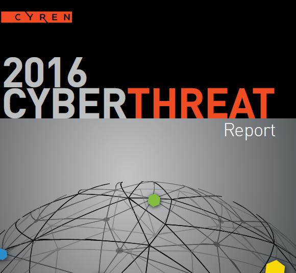 2016 CYREN Cyberthreat Report