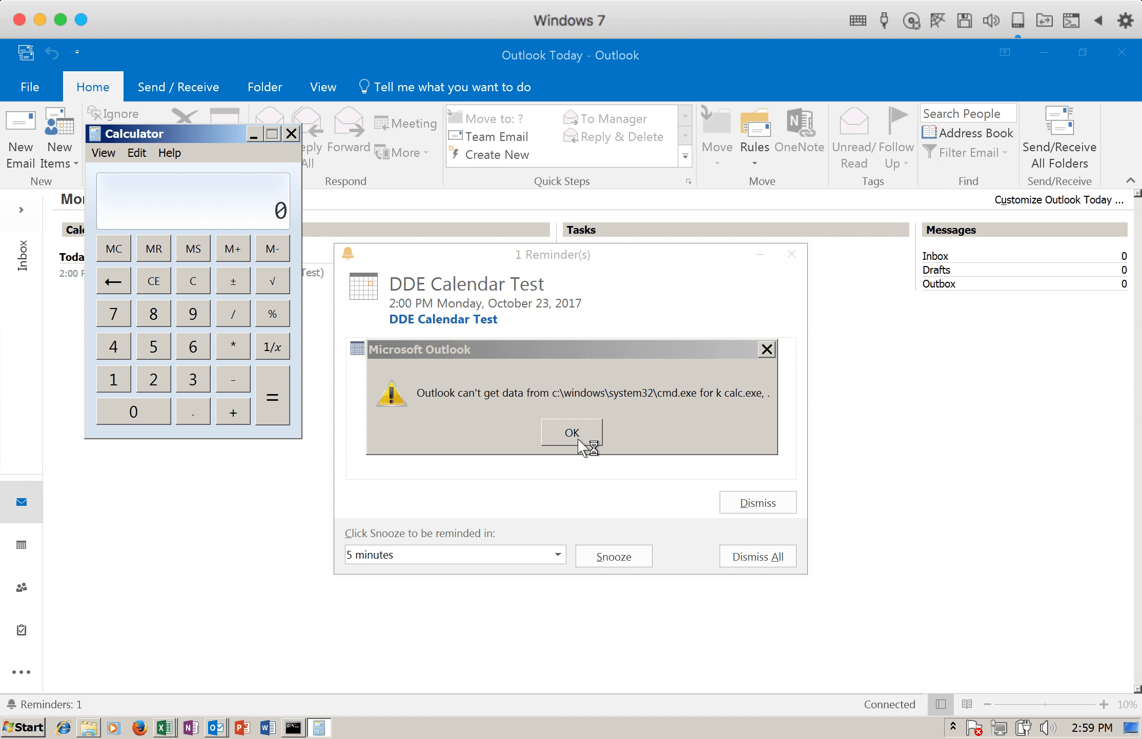 Email Malware - Without Outlook Macros or Attachments
