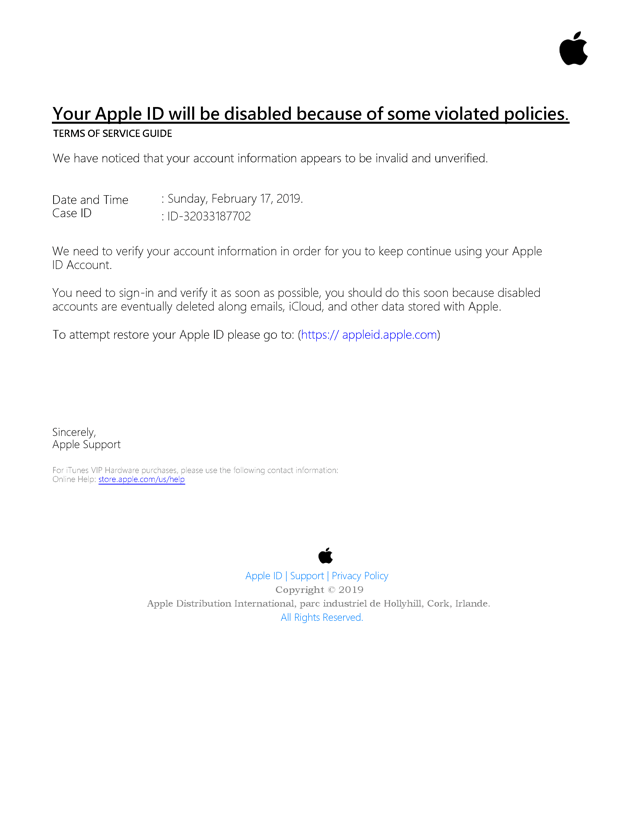 Apple Phishing Bait Has a Lot of Hooks