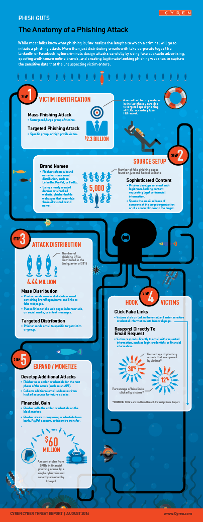 The Anatomy of a Phishing Attack