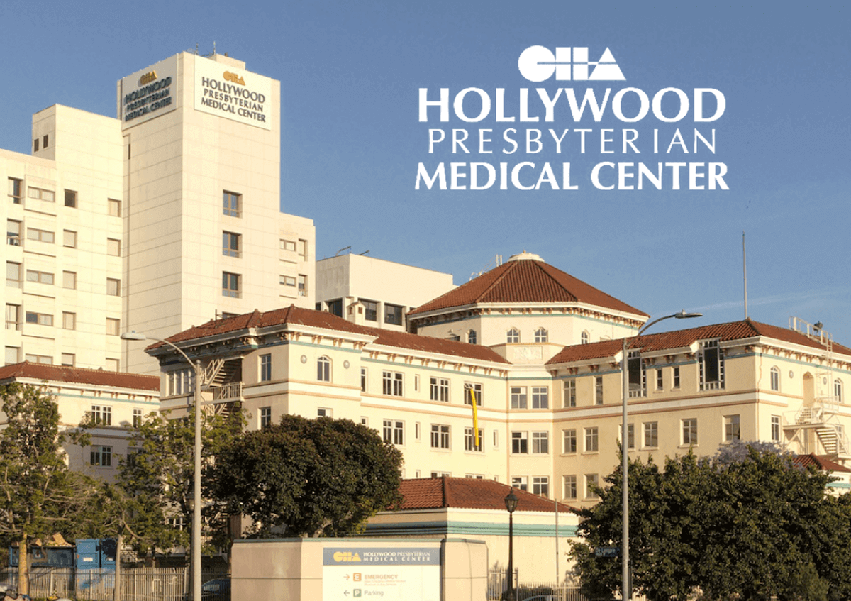 Hollywood Presbyterian Medical Center exterior