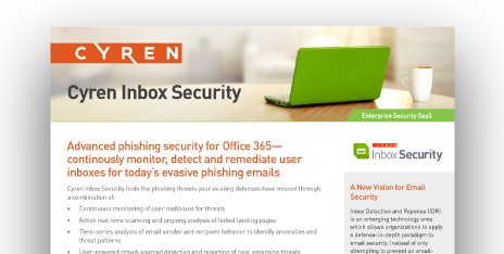 Cyren IP Reputation Check - Security as a Service, 100% Cloud