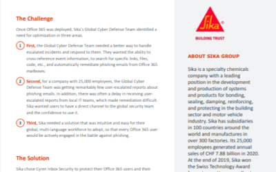 Case Study: SIKA GROUP